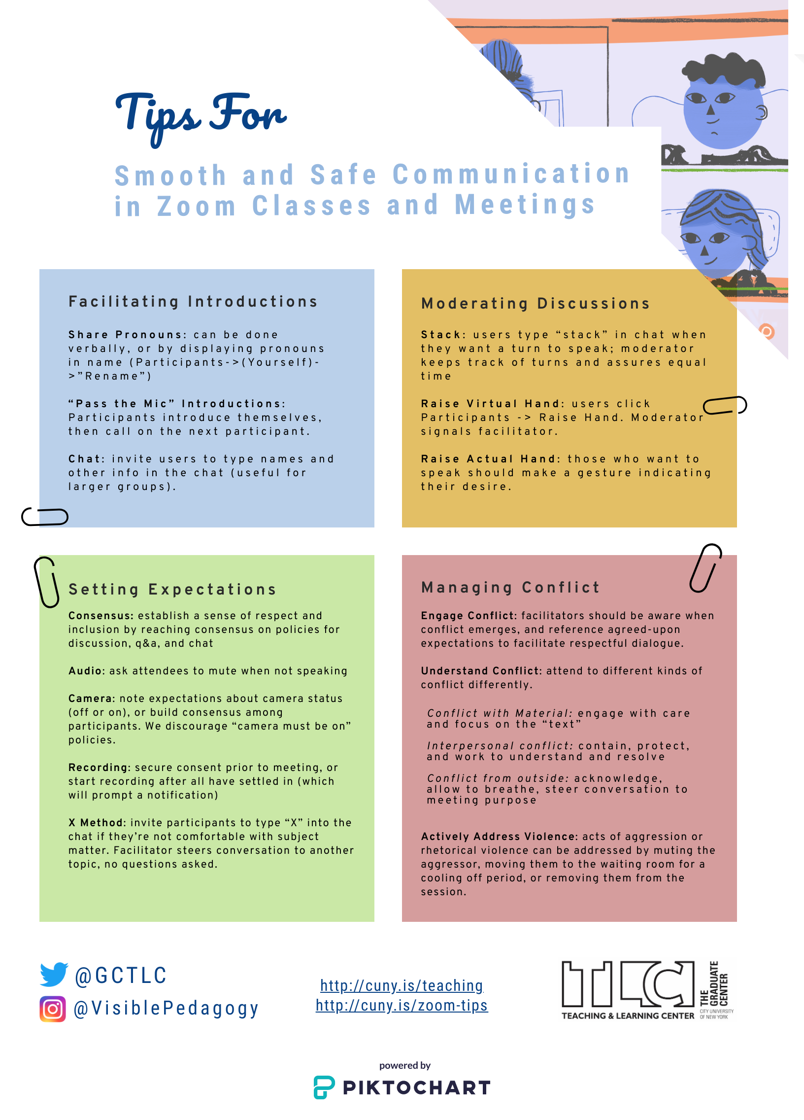 Tips for a Smooth ZOOM Class